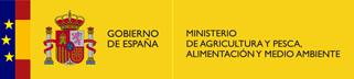 Logo del Ministerio de Agricultura y Pesca, Alimentación y Medio Ambiente