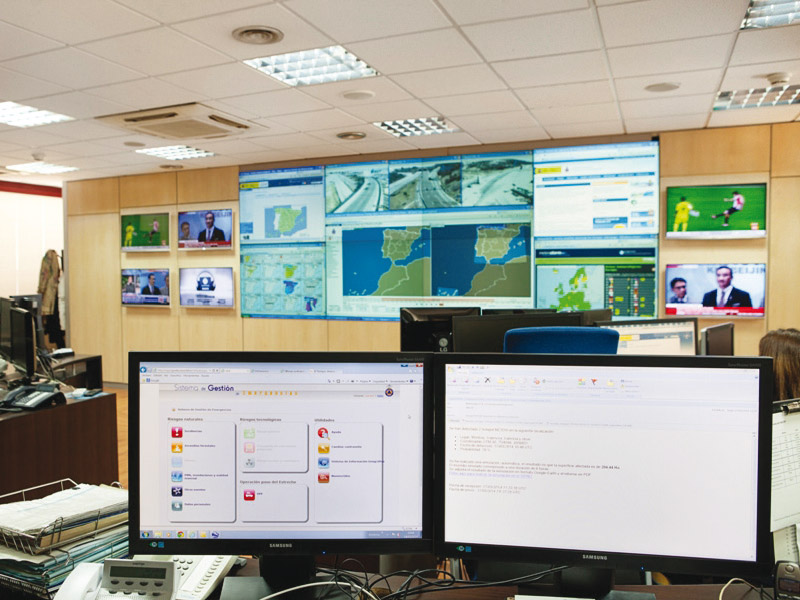 Modernization of the Operational Coordination Room of the General Directorate for Civil Protection