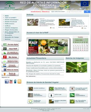 Plant Health Alert and Information Network (RAIF)