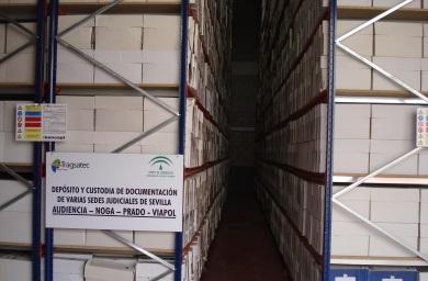 Cinco naves industriales custodiarán los documentos
